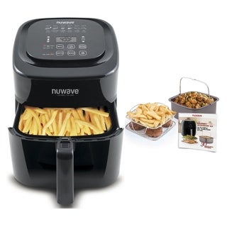 Nuwave 37001 6qt. Brio Air Fryer with 4 pc. accessory Kit