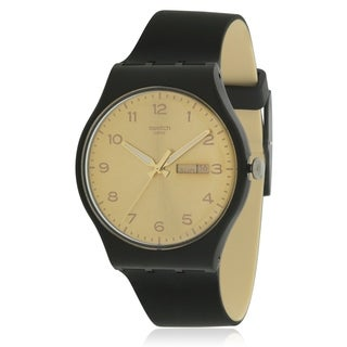 Swatch Golden Friend Unisex Watch SUOB716
