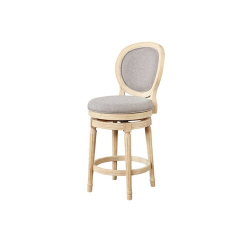 Elsa Wood Swivel Counter Stool