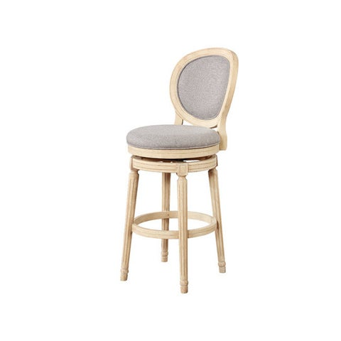 Elsa Wood Swivel Bar Stool