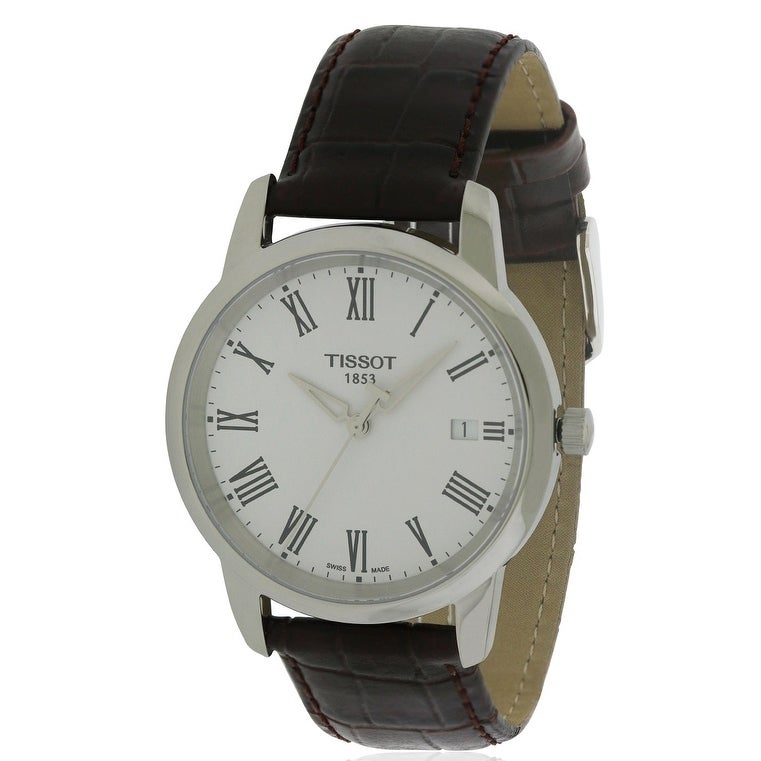 Tissot Classic Dream Leather Mens Watch T0334101601301, s...