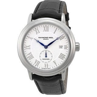 Raymond Weil Maestro Automatic Leather Mens Watch 2838-STC-00308