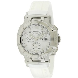 Tissot T-Race White Rubber Chronograph Ladies Watch