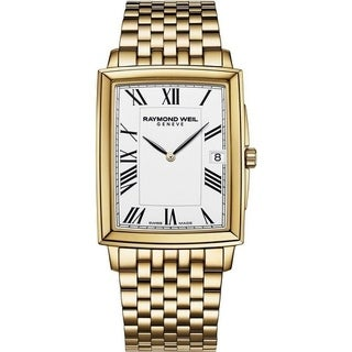 Raymond Weil Tradition Gold-Tone Mens Watch 5456-P-00300
