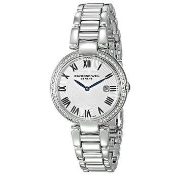 4b90b2959 Shop Raymond Weil Shine Stainless Steel Ladies Watch 1600-STS-00659 - Free  Shipping Today - Overstock - 20004491