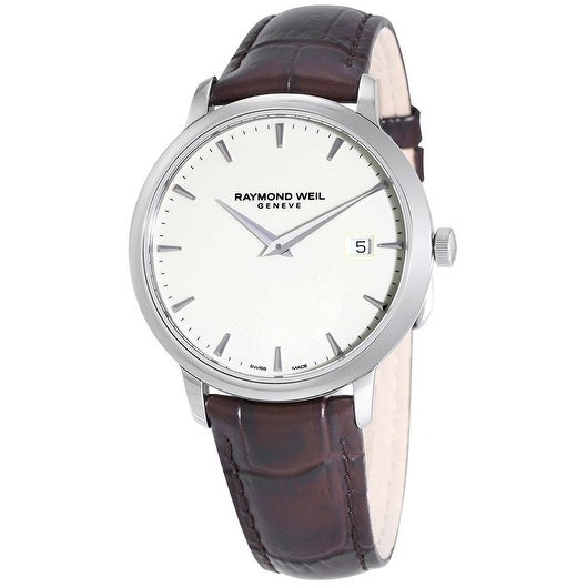 31d7ae0c1 Shop Raymond Weil Toccata Leather Mens Watch - Free Shipping Today -  Overstock - 20004504