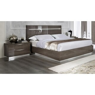 Luca Home Candice Silver Birch Bed