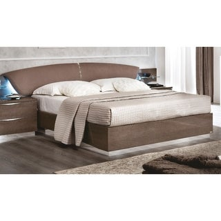 Luca Home Cameron Silver Birch Bed