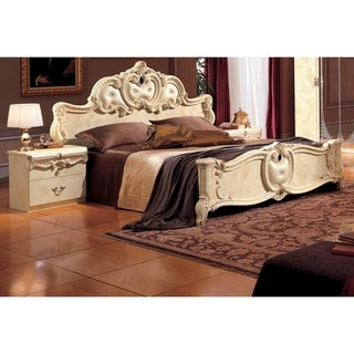 Luca Home Amory European Style Bed