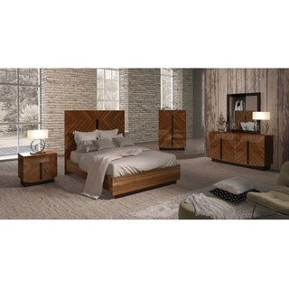 Luca Home Fargo Brown Bed