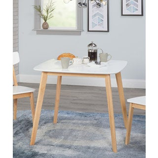 Simple Living Modern Dining Table - White