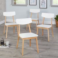Simple Living Modern Dining Chairs (Set of 4)