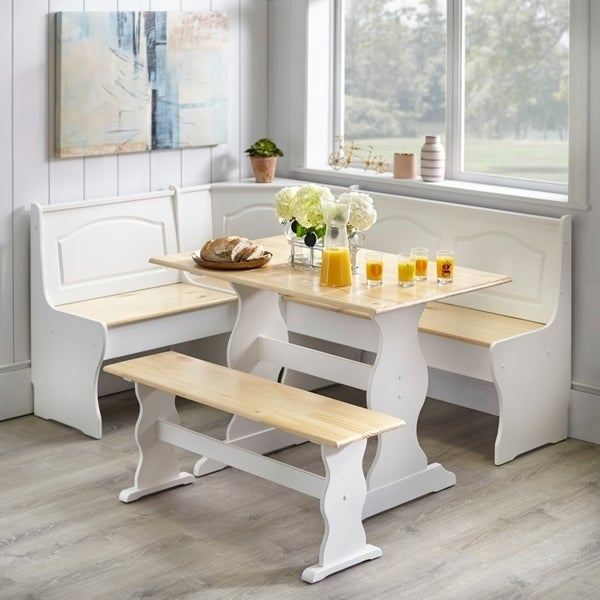 Shop Simple Living Knox 3 Piece Nook Set Free Shipping Today