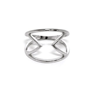Eternally Haute Open Double Chevron Ring (4 options available)