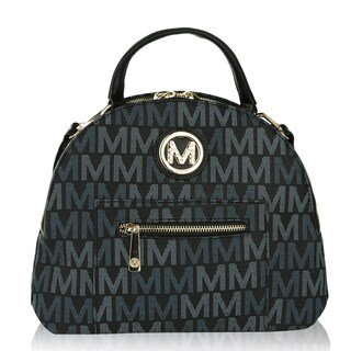 MKF Collection by Mia K Farrow Ariel 2 in 1 Shoulder Bag and Backpack (Option: Black)