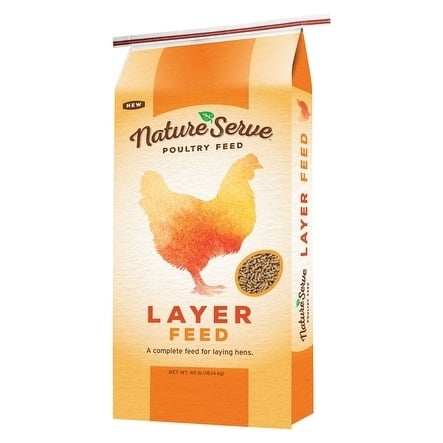 NatureServe Layer Feed Pellets For Poultry 40 lb.