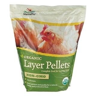 Manna Pro Layer Pellets Poultry Feed Corn 10 lb.