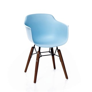 Grazia Baby Blue Mid Century Children's Chair Original Design (Set of 4)