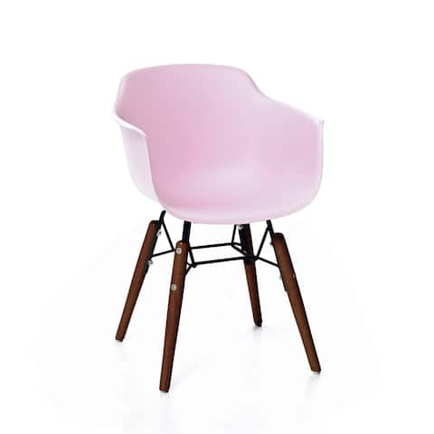 Grazia Baby Pink Mid Century Children's Chair Original Design (Set of 4)