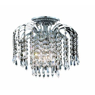 Falls 4-Light 16 in. Flush Mount (Available in Chrome and Gold)
