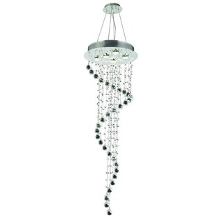 Galaxy 5-Light 48 in. Chrome Chandelier (2 options available)