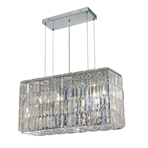 Maxime 8-Light 26 in. Chrome Chandelier