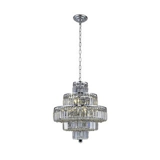 Maxime 13-Light 20 in. Chandelier (Available in Chrome and Gold) (More options available)