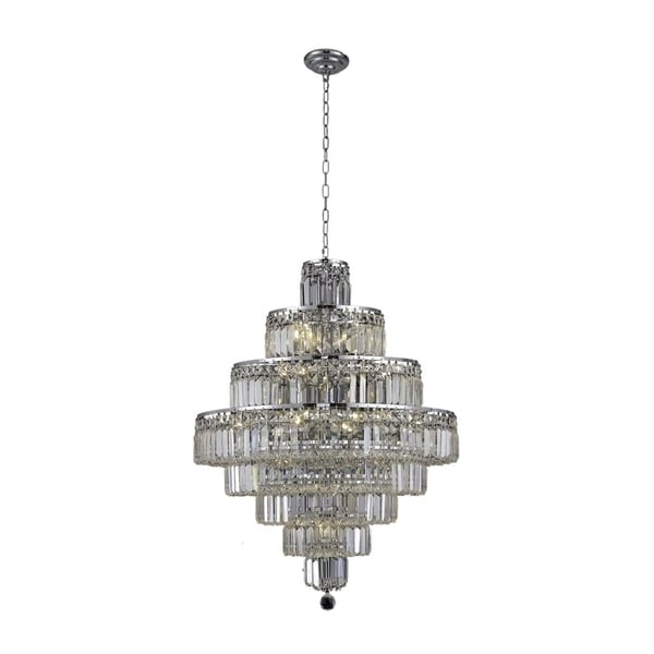 Maxime 18-Light 26 in. Chandelier (Available in Chrome and Gold)