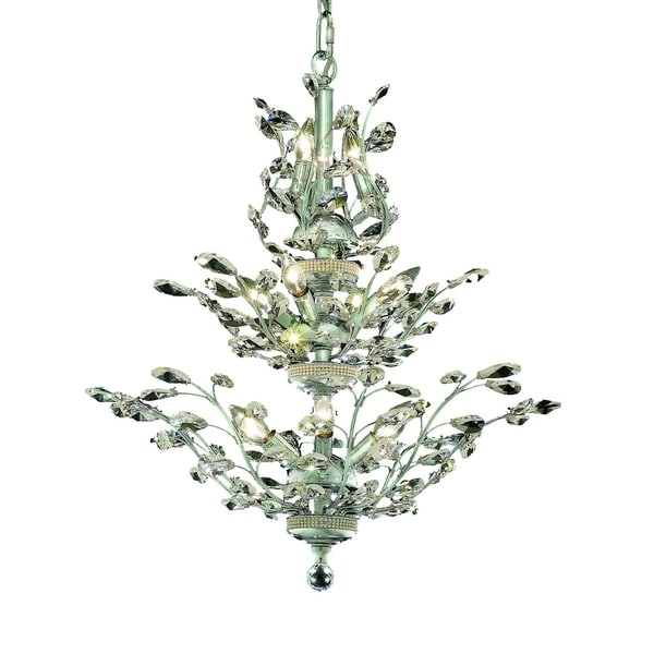 Orchid 13-Light 27 in. Chandelier (Available in Chrome, Dark Bronze, Gold)
