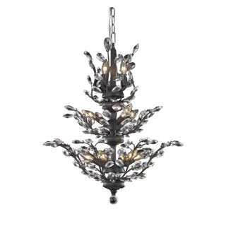 Orchid 13-Light 27 in. Chandelier (Available in Chrome, Dark Bronze, Gold) (More options available)