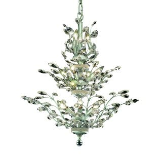 Orchid 13-Light 27 in. Chandelier (Available in Chrome, Dark Bronze,