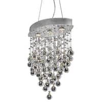 Galaxy 3-Light 18 in. Chrome Pendant