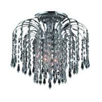 Falls 3-Light 12 in. Flush Mount (Available in Chrome and Gold)