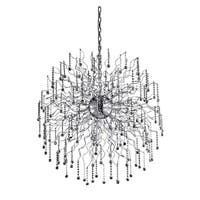 Astro 44-Light 43 in. Chrome Chandelier with Royal Cut Crystals