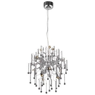 Astro 12-Light 24 in. Chrome Chandelier with Royal Cut Crystals