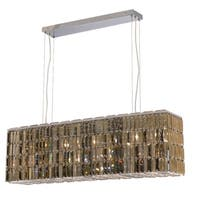 Maxime 8-Light 44 in. Chrome Chandelier (Available with Royal Cut Crystals or Swarovski® Elements Crystals)