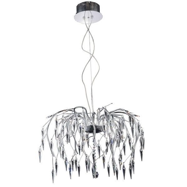 Amour 16-Light 28 in. Chrome Chandelier