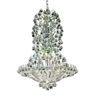 Sirius 22-Light 28 in. Chandelier (Available in Chrome and Gold)