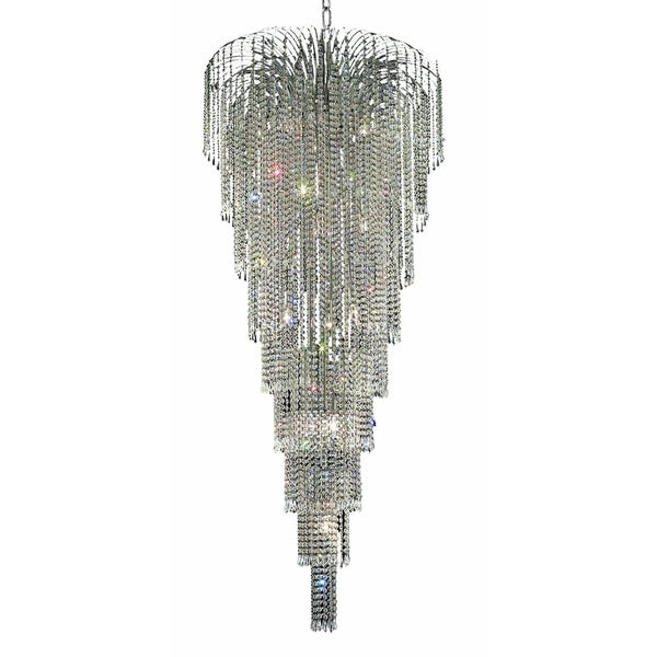Falls 15-Light 30 in. Chandelier (Available in Chrome and Gold)