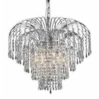 Falls 6-Light 21 in. Chandelier (Available in Chrome and Gold) (More options available)