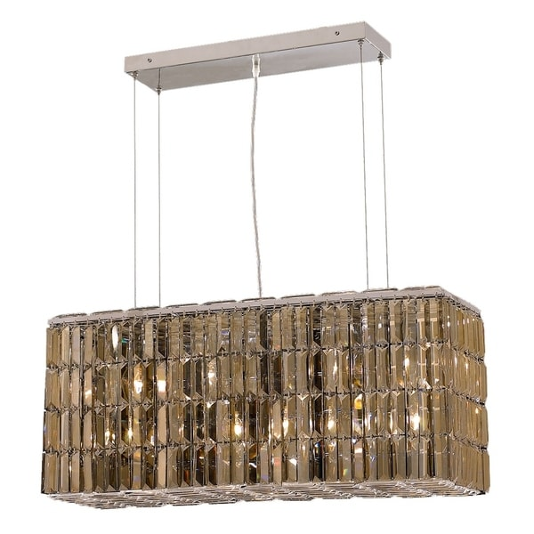 Maxime 8-Light 32 in. Chrome Chandelier (Available with Royal Cut Crystals or Swarovski® Elements Crystals)
