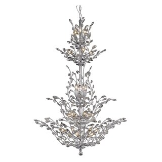 Orchid 25-Light 54 in. Chandelier (Available in Chrome, Dark Bronze, Gold) (More options available)