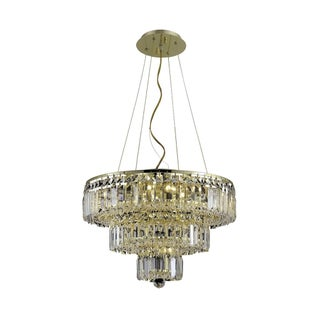 Maxime 9-Light 20 in. Chandelier (Available in Chrome and Gold) (4 options available)