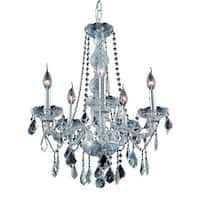 Verona 5-Light 21 in. Chandelier (Available in Chrome and Gold)