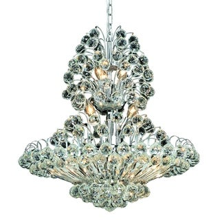 Sirius 14-Light 24 in. Chandelier (Available in Chrome and Gold)