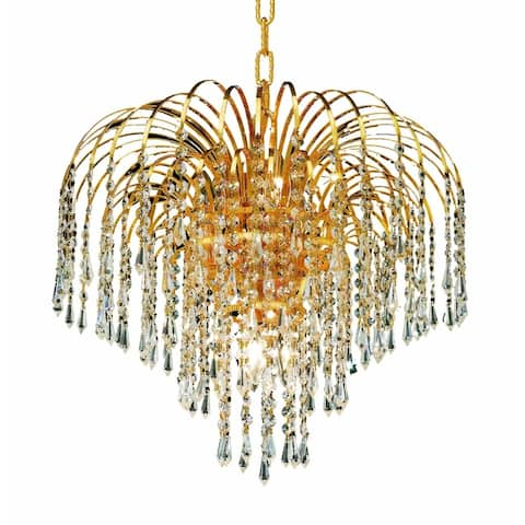 Falls 6-Light 19 in. Pendant (Available in Chrome and Gold)