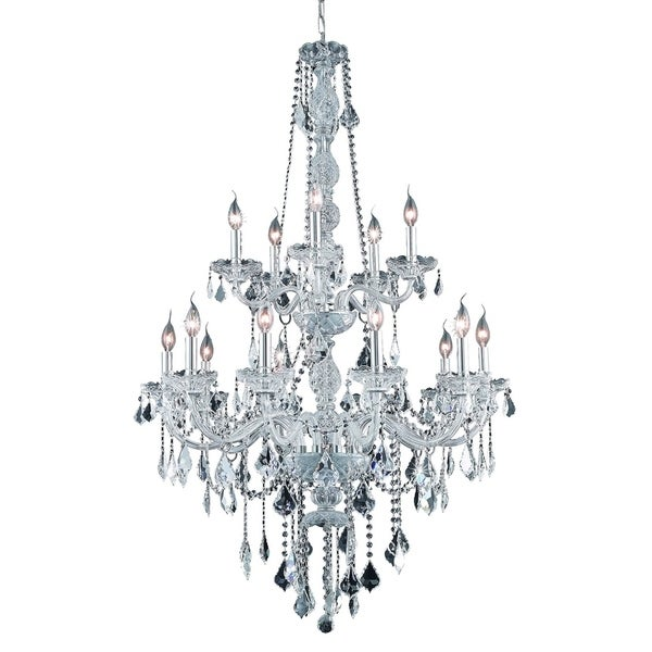Verona 15-Light 33 in. Chandelier (Available in Chrome and Gold)