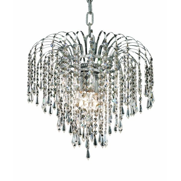 Falls 3-Light 14 in. Pendant (Available in Chrome and Gold)