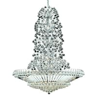 Sirius 43-Light 48 in. Chandelier (Available in Chrome and Gold)