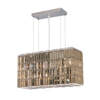 Maxime 8-Light 26 in. Chrome Chandelier (Available with Royal Cut Crystals or Swarovski® Elements Crystals)